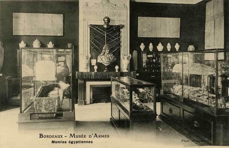 Musée d'armes au domaine de Carreire