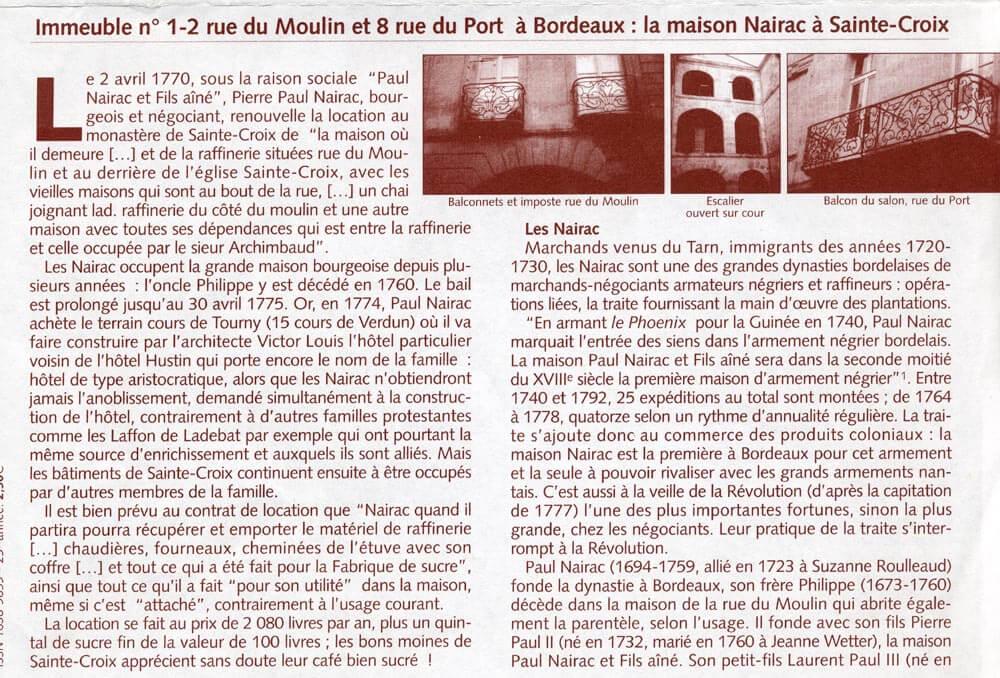 article msa mars-avril2007 n 277-278 p1