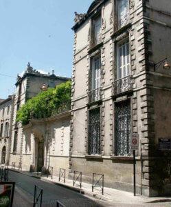 Vue de l'hôtel Ragueneau depuis la rue du Loup. © cliché A.M. Bordeaux - photographe Bernard Rakotomanga