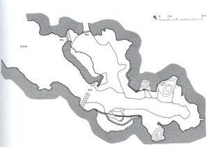 Plan actuel de al grotte de Pair-non-Pair.