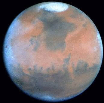 Planette Mars - Marcou
