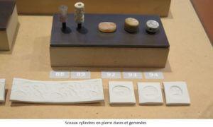 Sceaux cylindres en pierre dures et gemmées